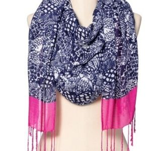 Lilly Pulitzer for Target Navy Scarf